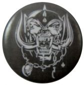 Motorhead - 'Warpig Logo' Button Badge